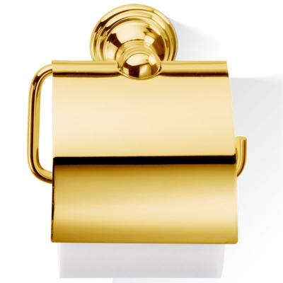 Decor Walther WC-Rollenhalter Classic gold mit Deckel